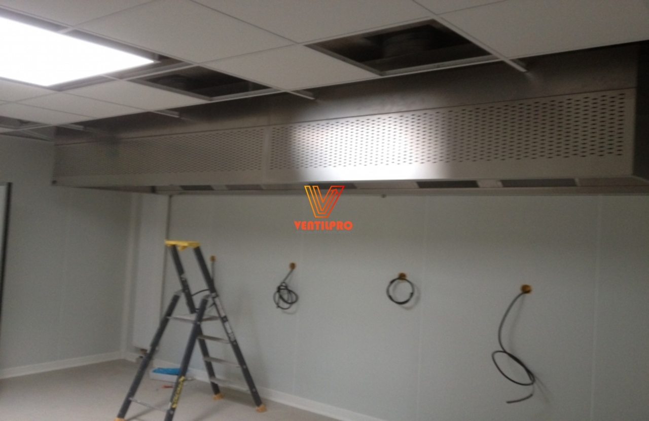 Installation Hotte professionnelle